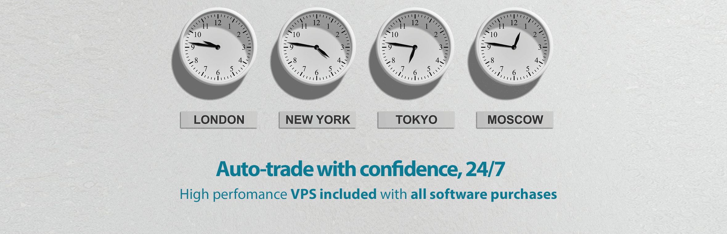 VPS included with all software purchases